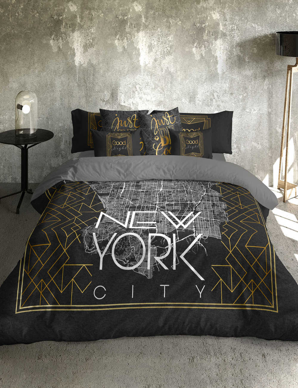 bettw sche tangra aus satin. Black Bedroom Furniture Sets. Home Design Ideas