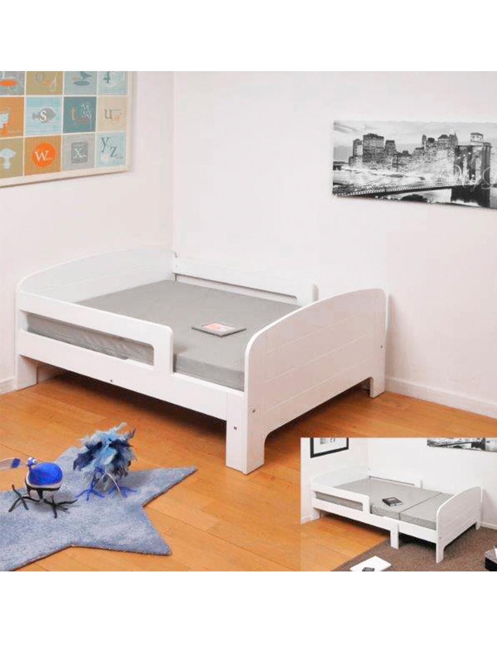 erweiterbares kinderbett mathias rosa. Black Bedroom Furniture Sets. Home Design Ideas