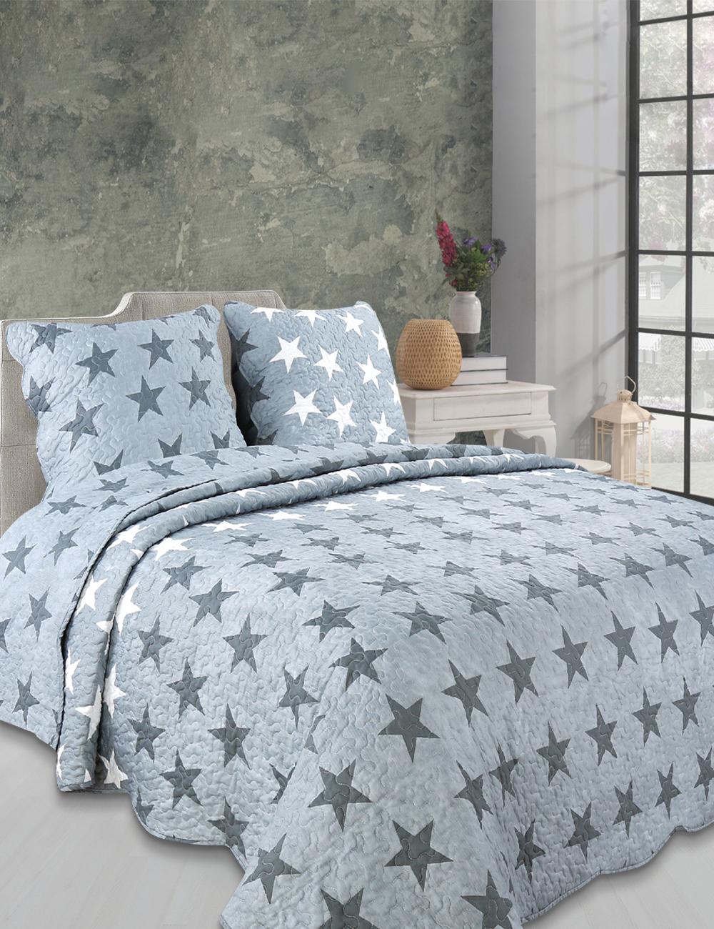 couvre lit stella 240 x 260 cm. Black Bedroom Furniture Sets. Home Design Ideas