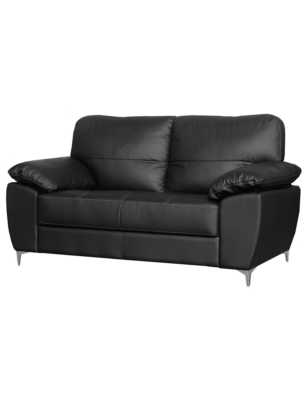 ledersofa siena 2 sitzer. Black Bedroom Furniture Sets. Home Design Ideas