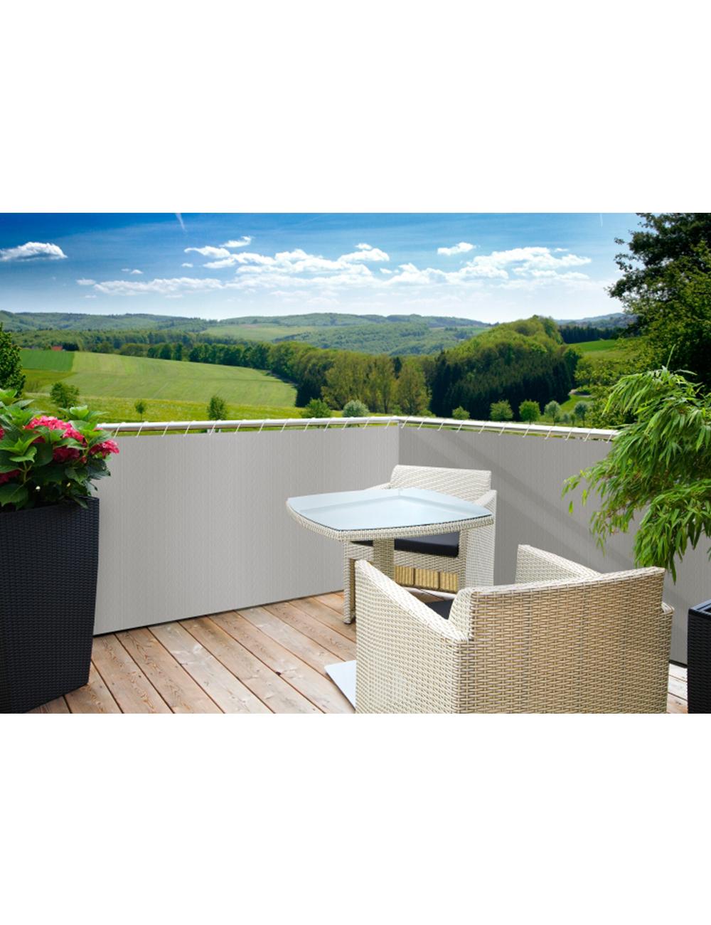 cache balcon gris. Black Bedroom Furniture Sets. Home Design Ideas