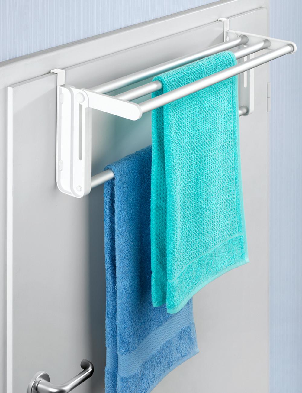 Porte serviettes extensible for Porte extensible