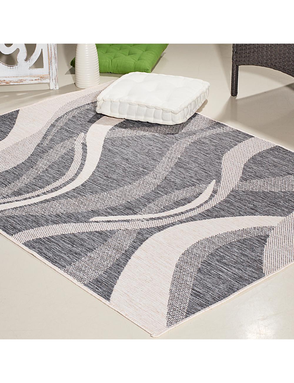 tapis wave r versible 160 x 230 cm. Black Bedroom Furniture Sets. Home Design Ideas