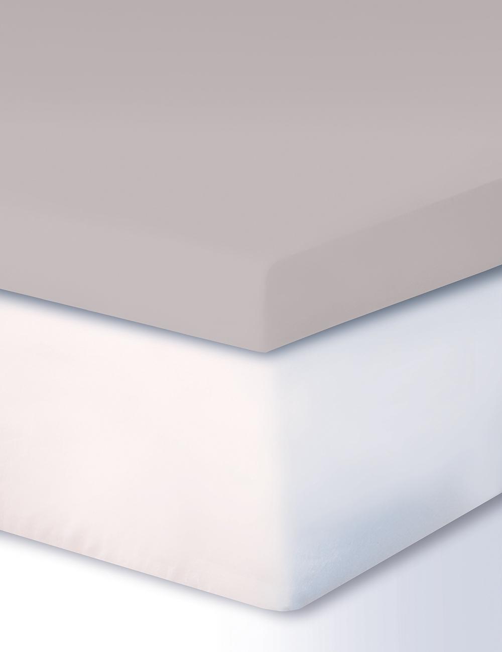 drap housse pour surmatelas boxspring 180 200 x 200 cm gris. Black Bedroom Furniture Sets. Home Design Ideas