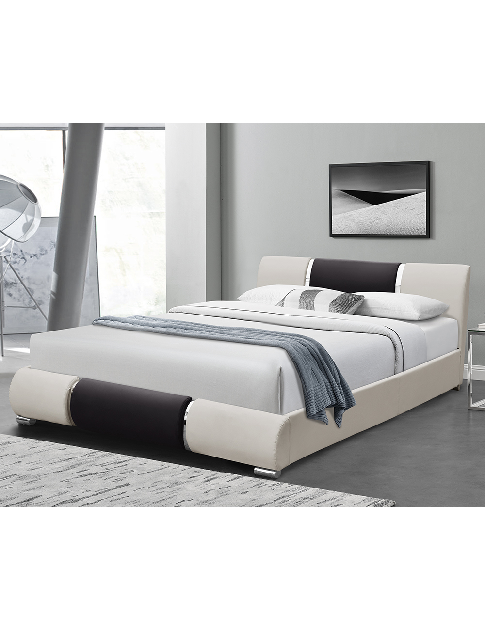 bett sana 140 x 200 cm. Black Bedroom Furniture Sets. Home Design Ideas