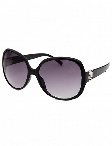 Sonnenbrille Guess, Oversized-Modell in Schwarz