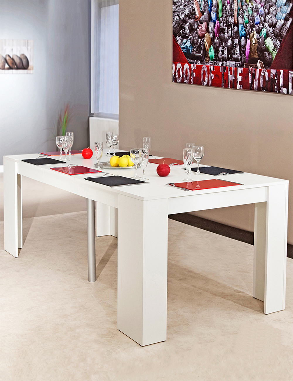 Table Extensible/console