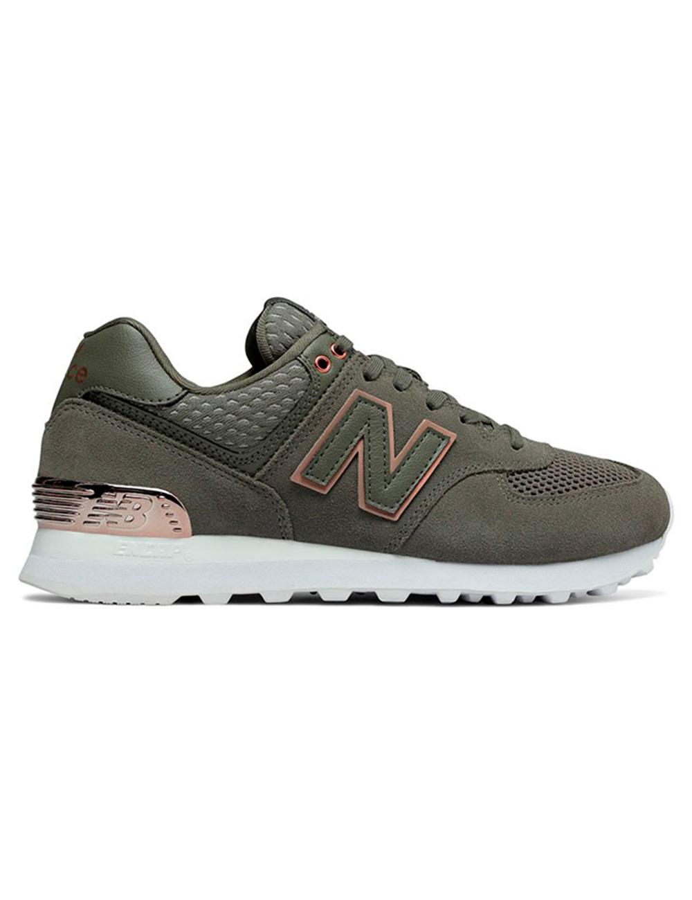 574 sneaker new balance gruen