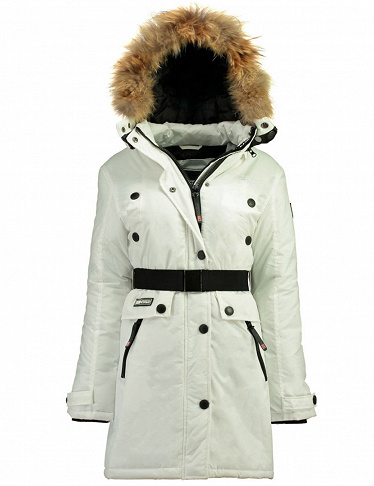 Parka Acaba Lady, weiss