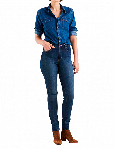 High Rise Skinny Jeans 721