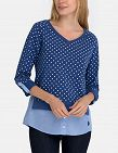 Damen T-Shirt US Polo ASSN, blau