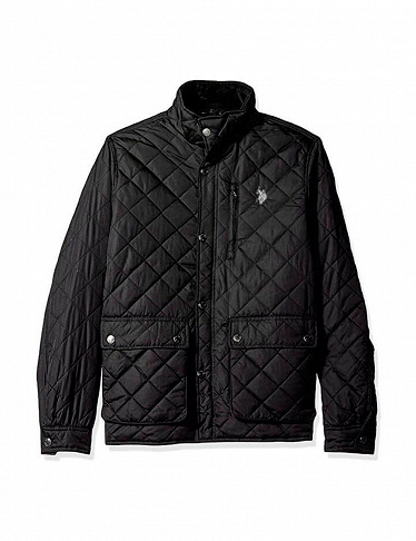 Herrenjacke US Polo ASSN, schwarz