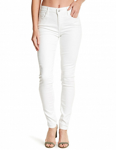 Damenjeans «High Rise Skinny» von Levi's, weiss