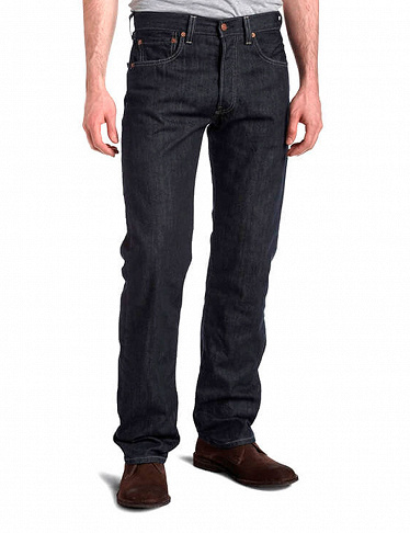 Herren-Jeans 501 «Original Fit» von Levi's, anthrazit