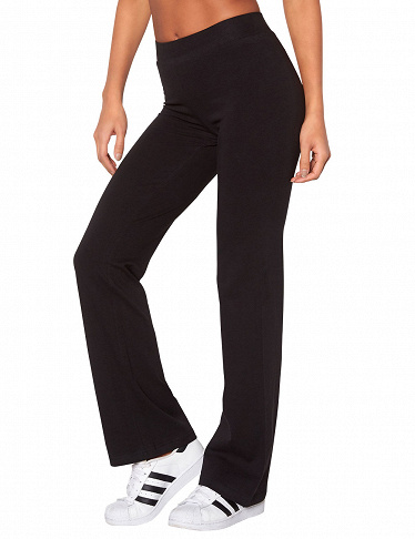 Hose von Happy Holly, Stretch, schwarz