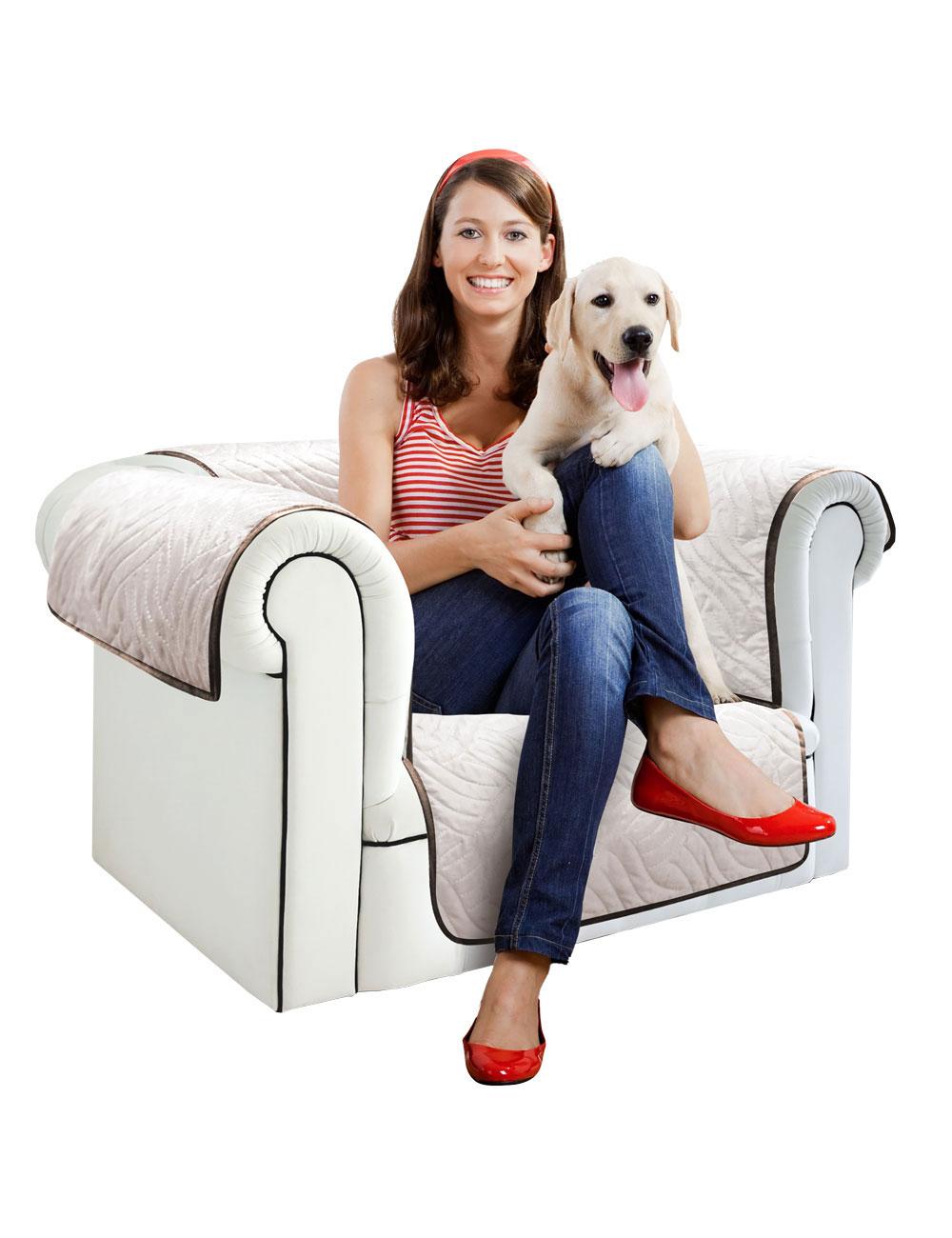 sessel berzug starlyf braun beige b 170 cm. Black Bedroom Furniture Sets. Home Design Ideas