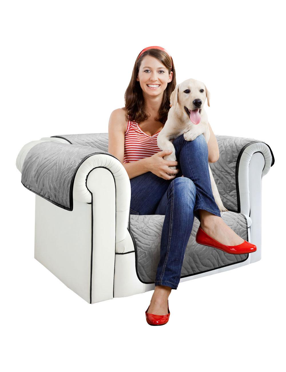 sessel berzug starlyf schwarz grau b 170 cm. Black Bedroom Furniture Sets. Home Design Ideas