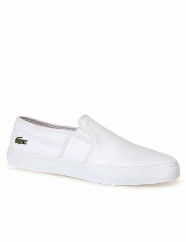 Damen-Sneakers im Slippper Style «Gazon White» Lacoste, weiss