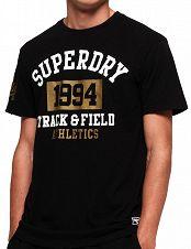 Herren T-Shirt «1994 Metallic», schwarz von Superdry 668b61870d