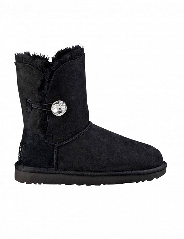 Stiefeletten «Bailey Button Bling»  UGG, schwarz