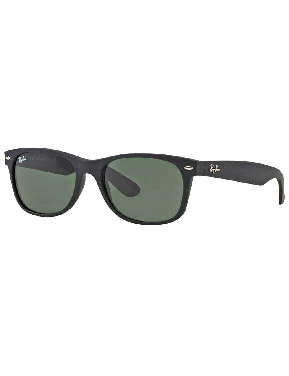 545f8a6b3d02ff Sonnenbrille «New Wayfarer» von Ray Ban, schwarz/grün
