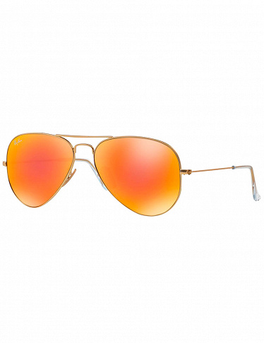 Sonnenbrille «Aviator» large von Rayban, golden/orange