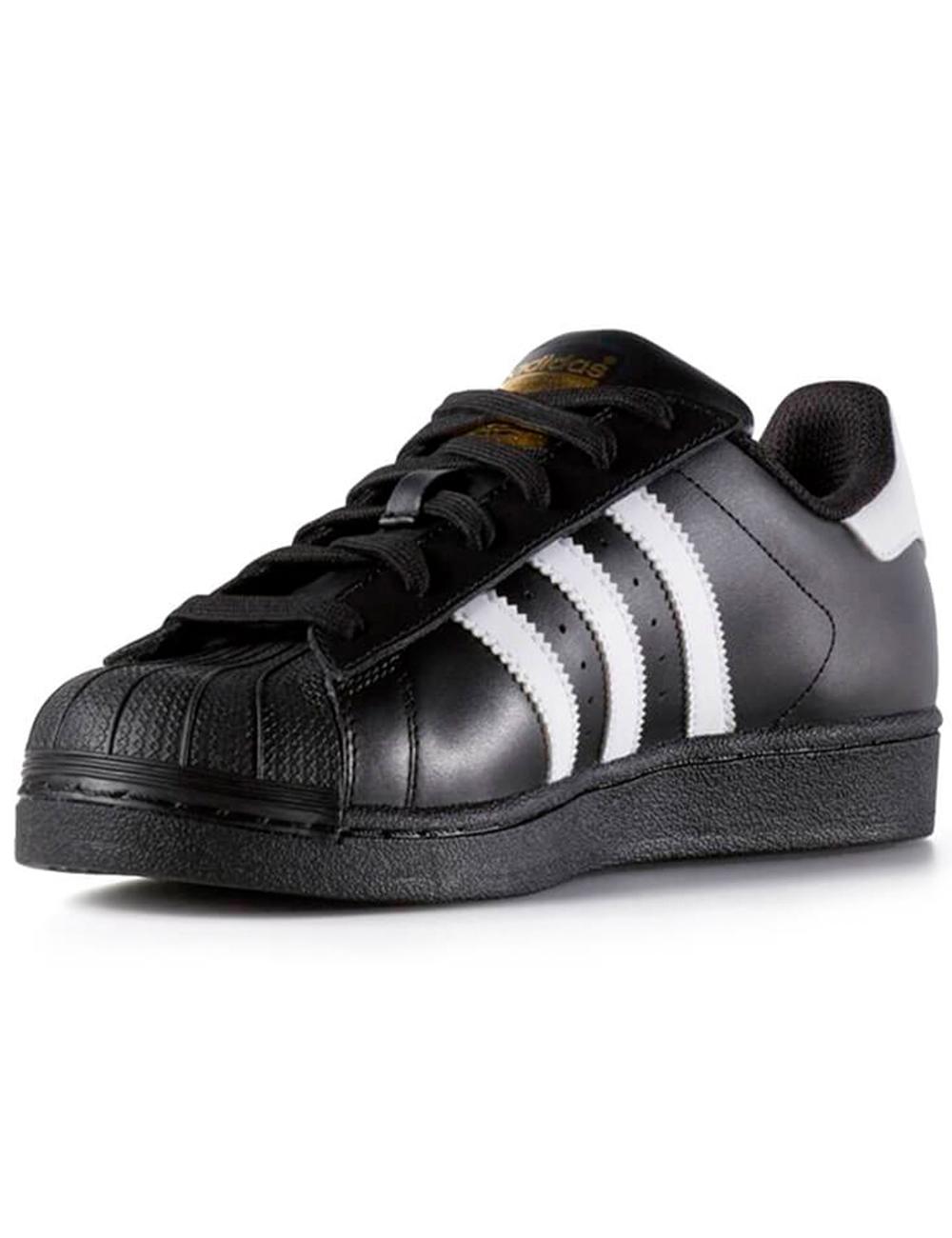 Baskets Adidas femme «Superstar» , noir