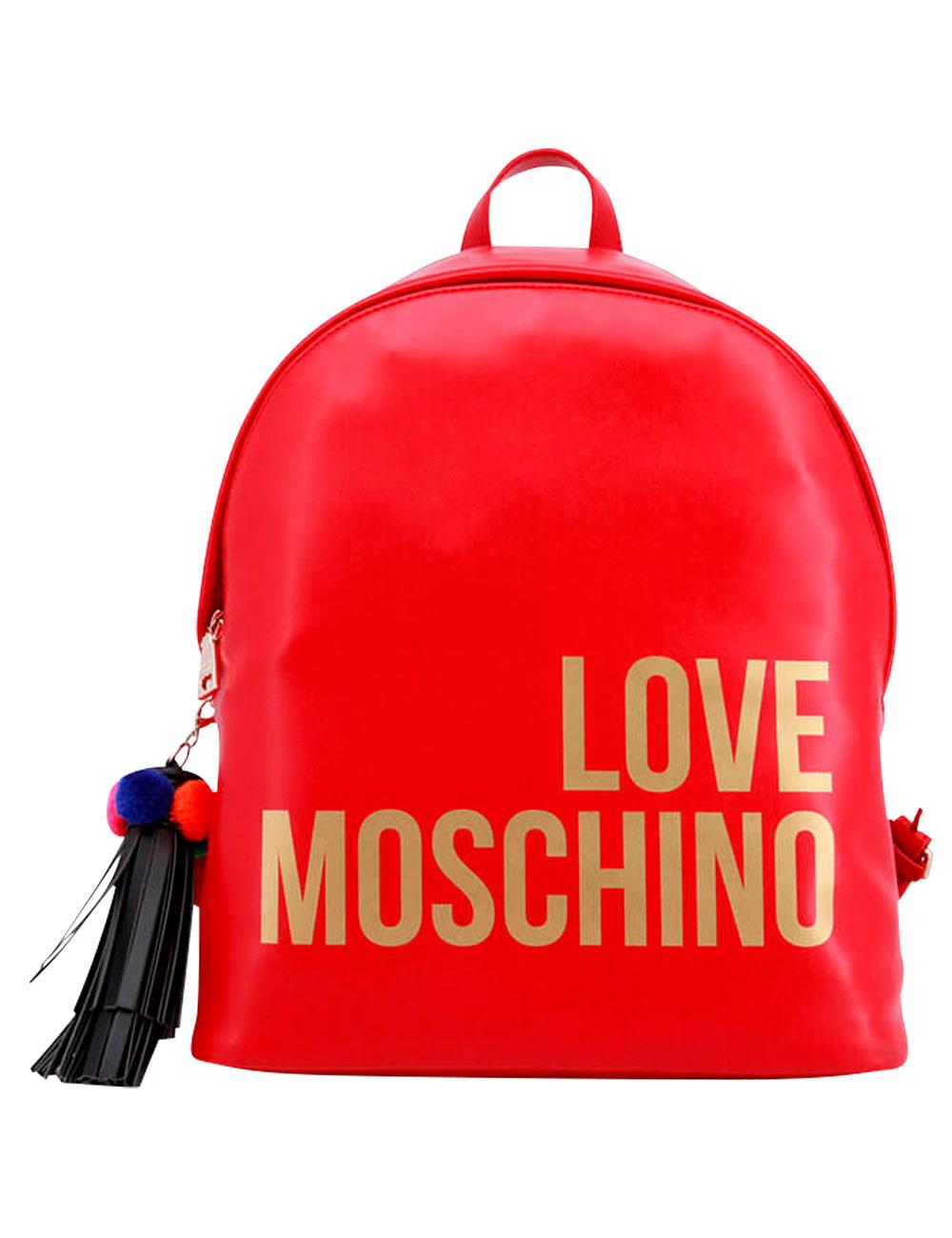 60c8f9bafdd32 Sac à dos, Love Moschino, rouge