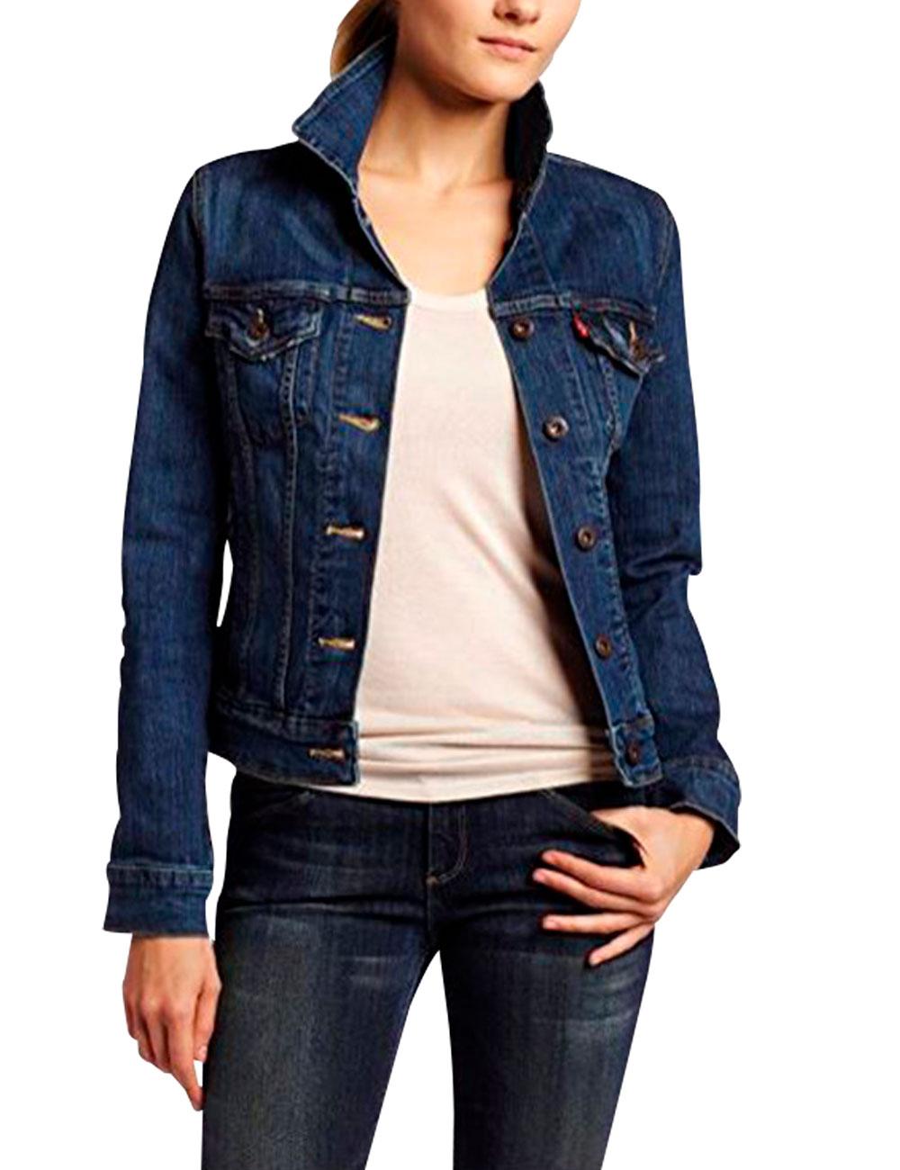 0f020c7ed0a16 Veste Jeans Pour Femmes De Levi S Bleu