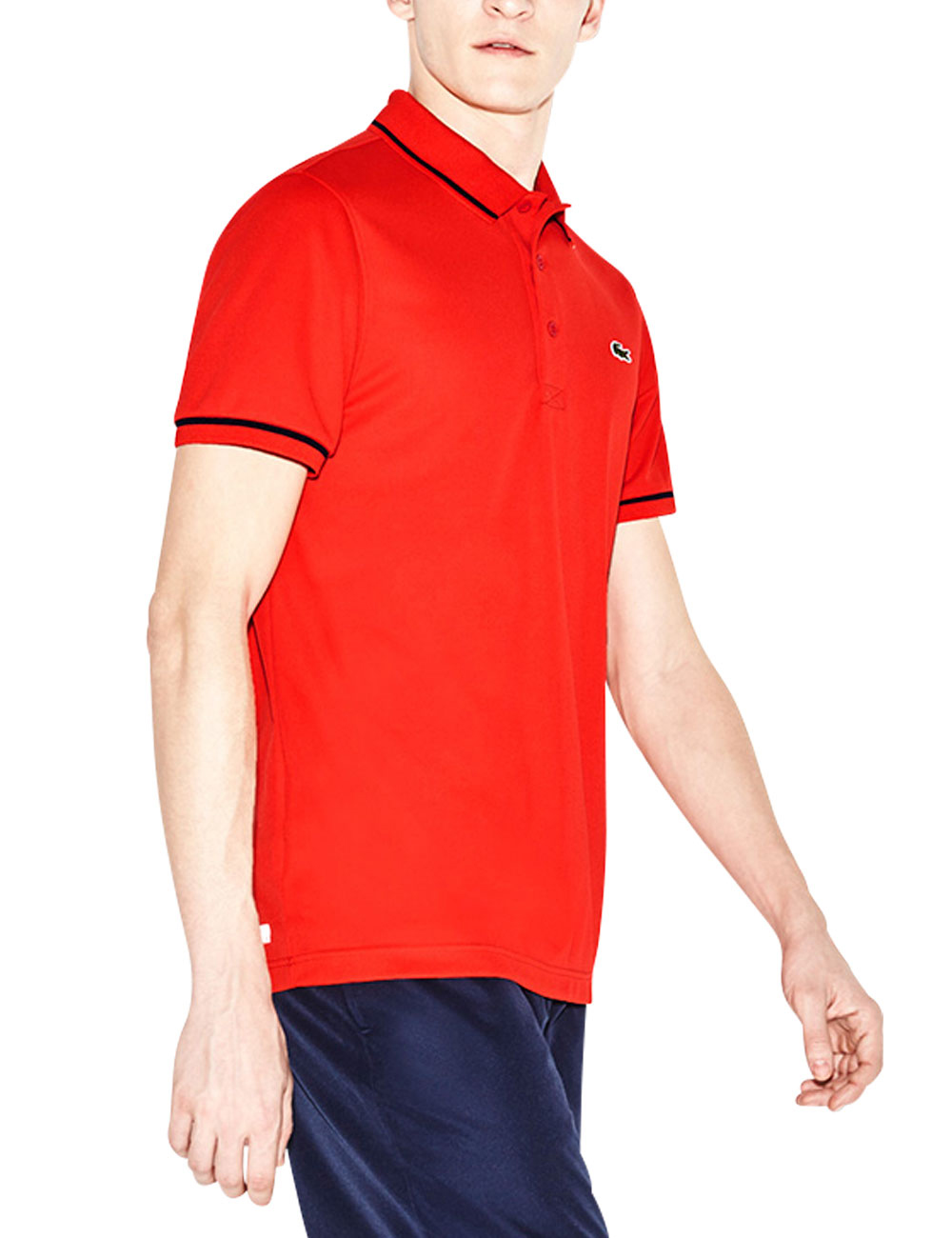 finest selection 672aa fc34d Herren-Polo, Lacoste, rot