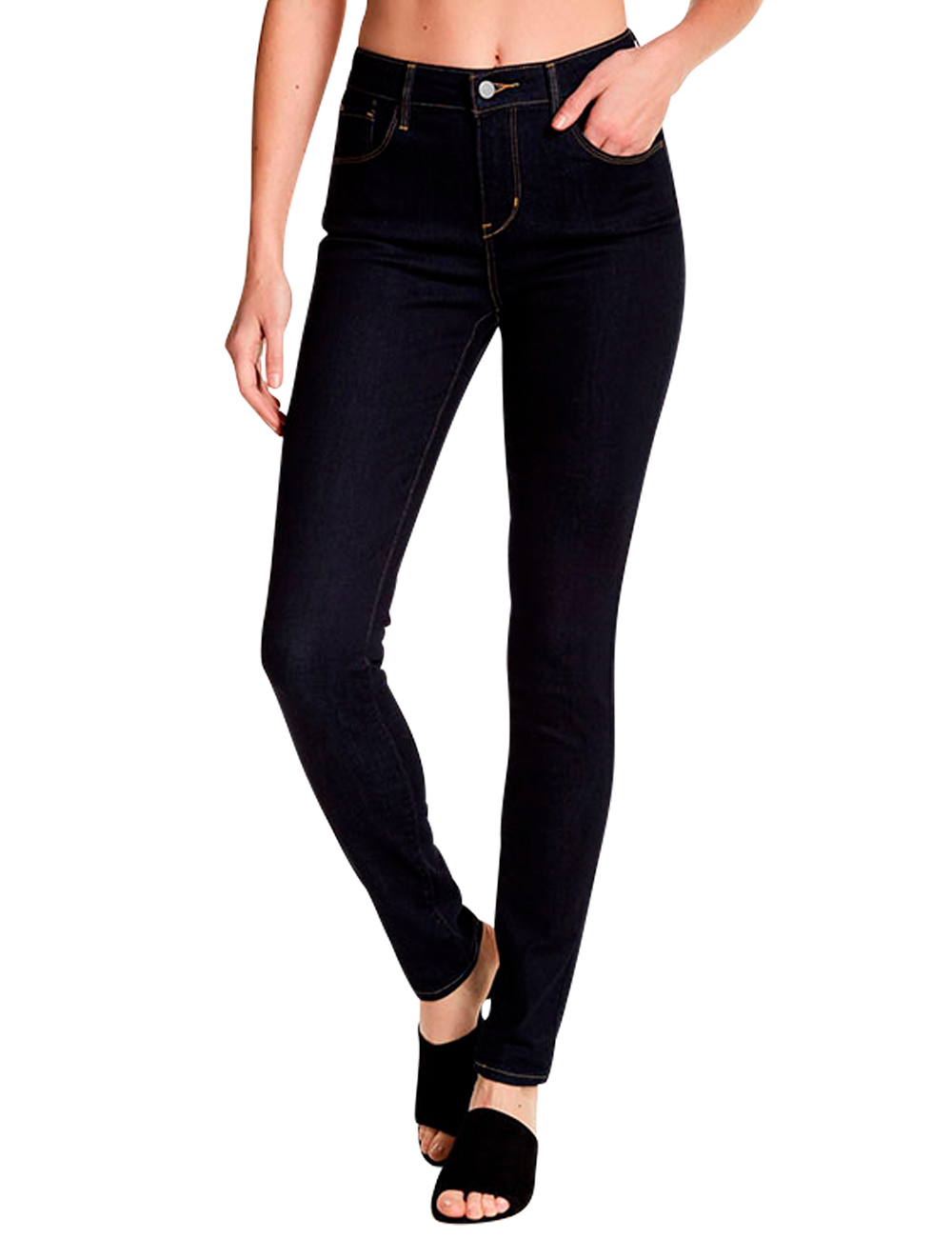 Jeans Skinny»Levi'sL Hoher Taille 32 «high Damen Mit Rise mNnOy08vwP