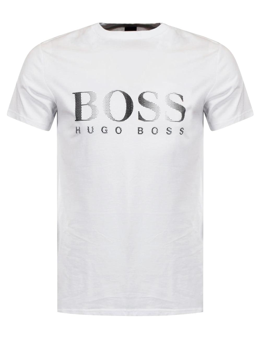 timeless design 23b50 128d7 Herren T-Shirt «RN» von Hugo Boss, weiss