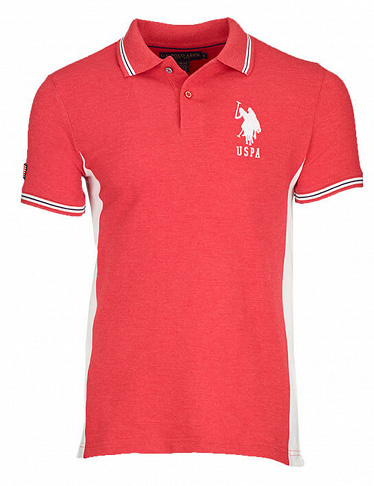 Herren Polo-Shirt von US Polo ASSN, rot