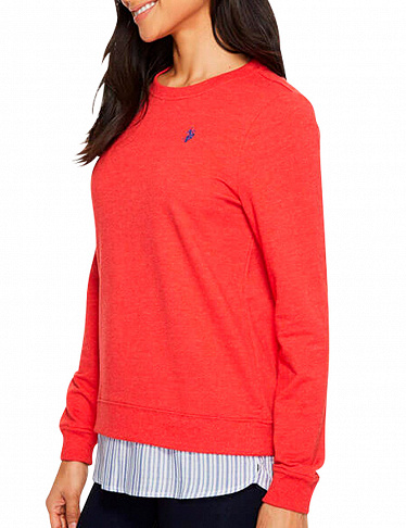Damen-Pullover US Polo ASSN, rot