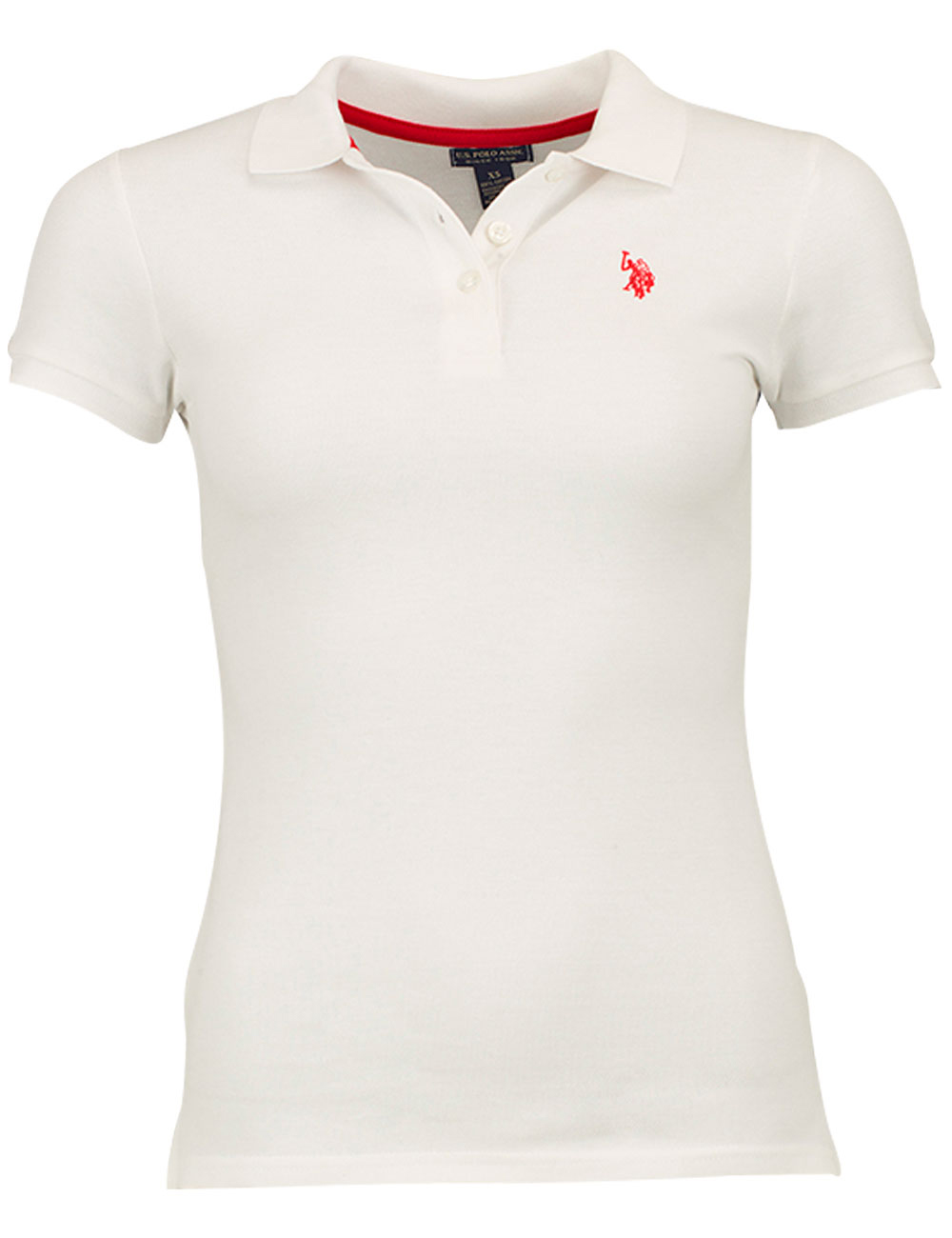 Damen Poloshirt Us Polo Assn Weiss