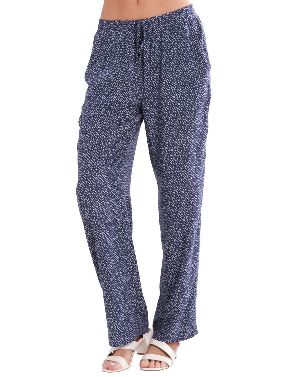 f3c5bd1ffa0a30 Leichte Hose mit elastischer Taille