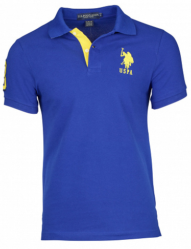Herren T-Shirt US Polo ASSN, blau