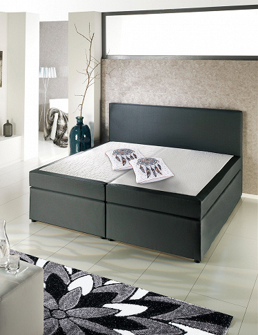 Boxspring-Bett «Grey 2»