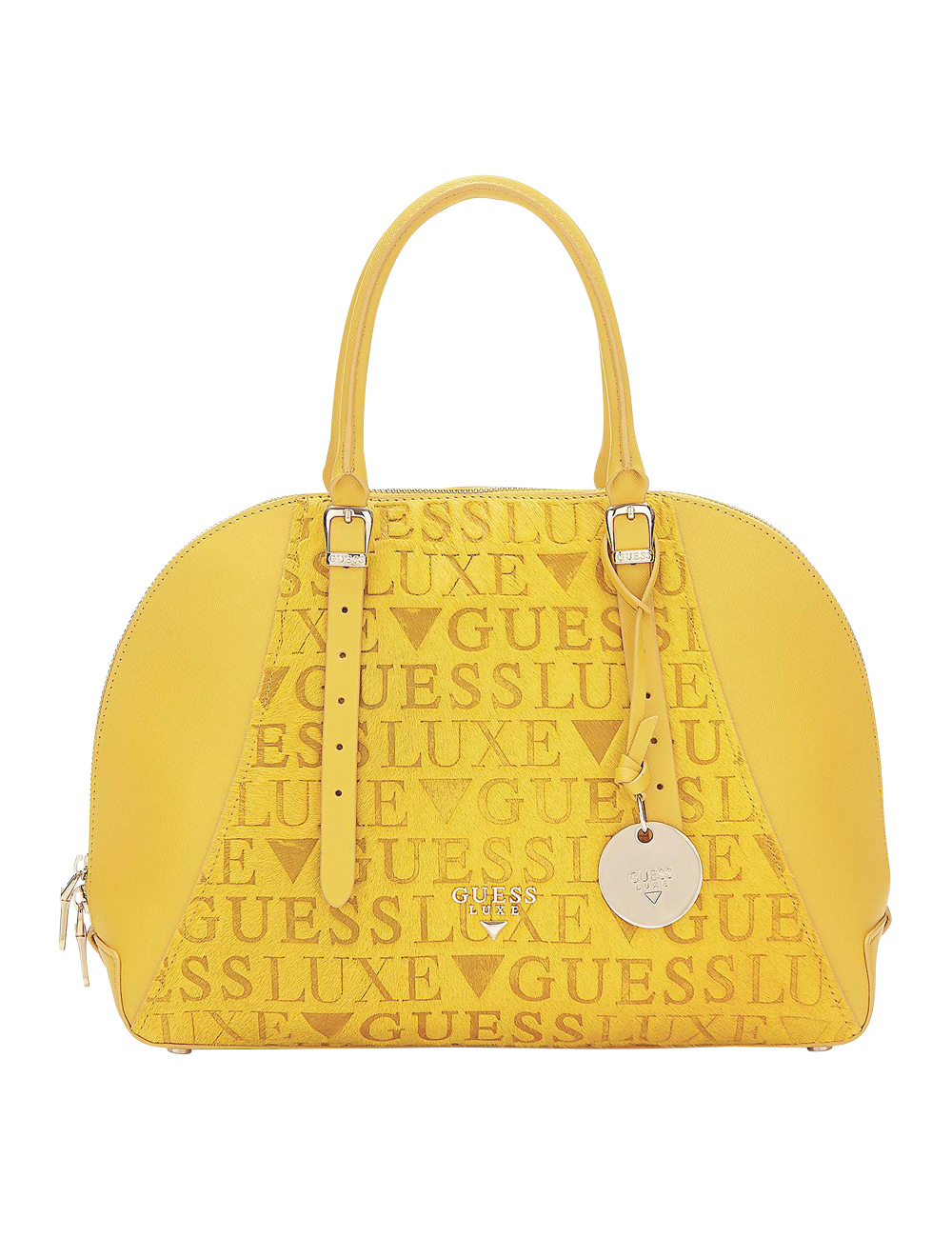 Sac mallette «Lady Luxe» Guess, jaune