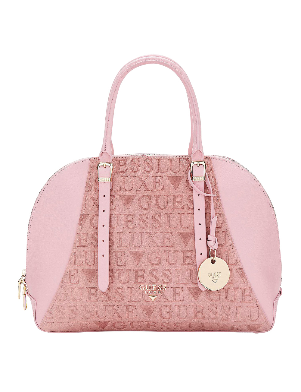 9933fc876f Sac mallette «Lady Luxe» Guess, rose clair
