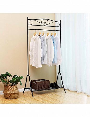 garderobe country aus metall. Black Bedroom Furniture Sets. Home Design Ideas