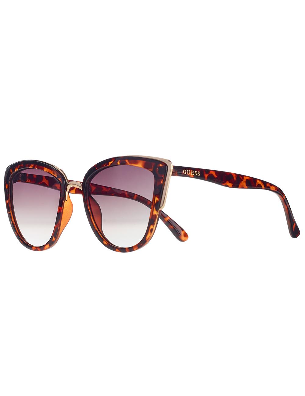 e0baf70fa13db Lunettes de soleil Guess aspect léopard