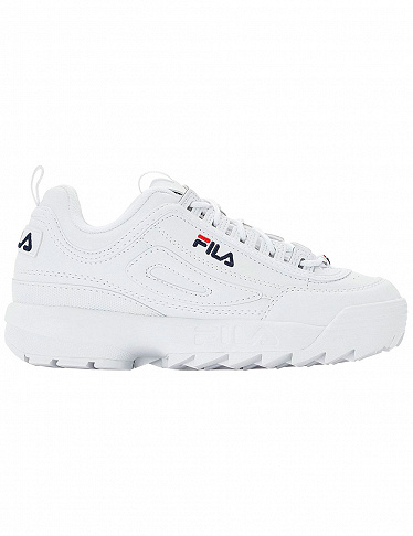 Damen Sneakers Disruptor Fila, weiss