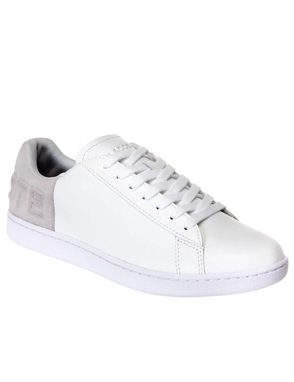 brand new 013b6 d9759 Damen Sneakers Lacoste, weiss/grau