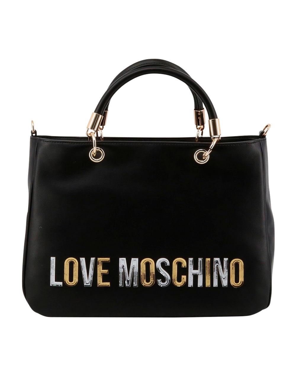 sold worldwide best shoes detailed look Sac à main de Love Moschino en noir
