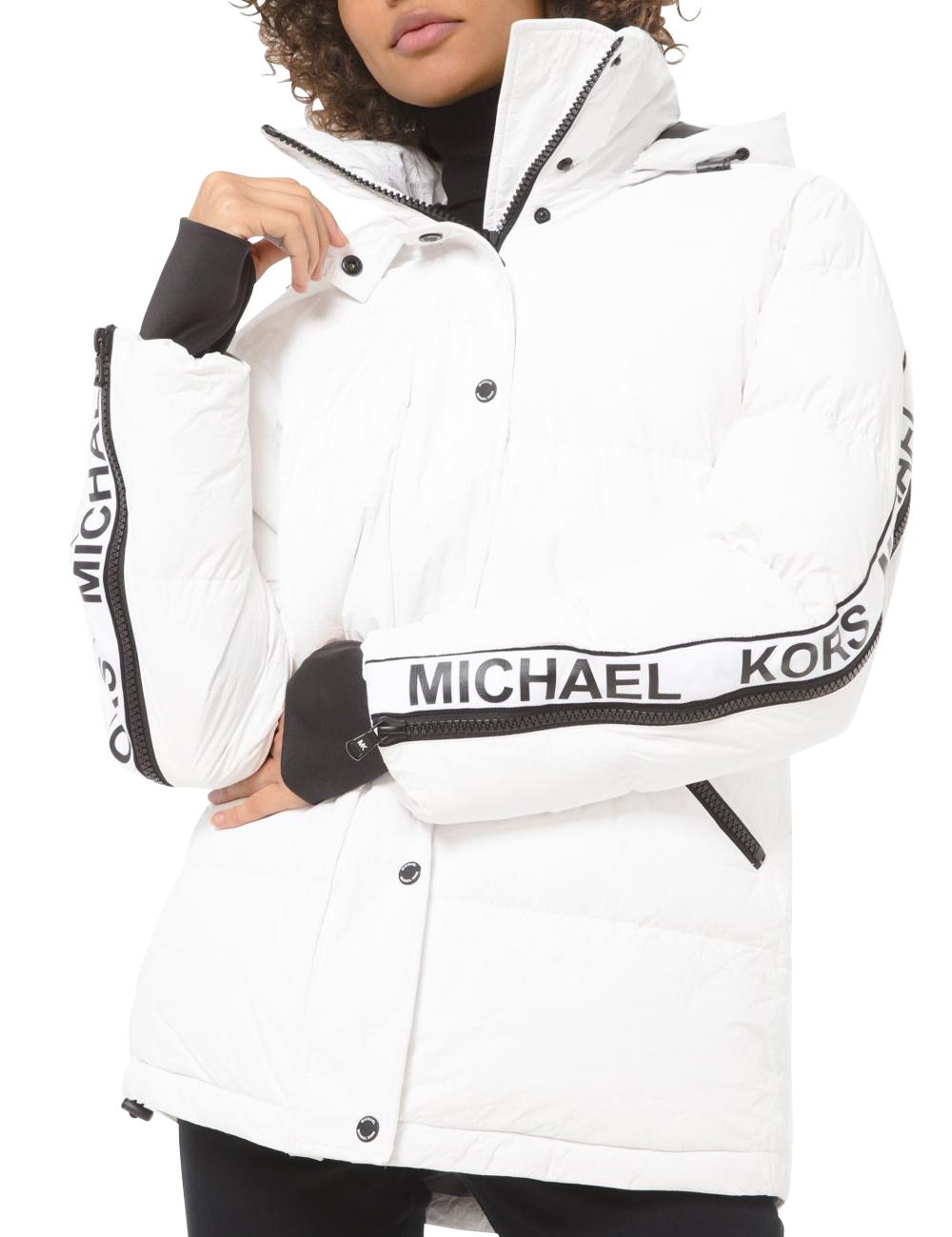 Michael Kors veste en duvet, blanc