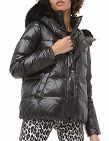 Michael Kors Jacke Metallic-Optik, schwarz