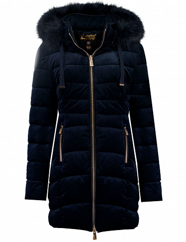 Geographical Norway Damen-Parka «Bilove Lady long», marine