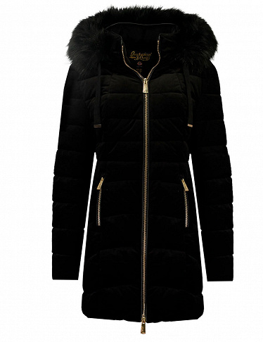 Geographical Norway Damen-Parka «Bilove Lady long», schwarz