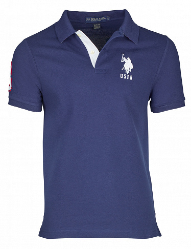 T-Shirt für Herren, US Polo ASSN, navy